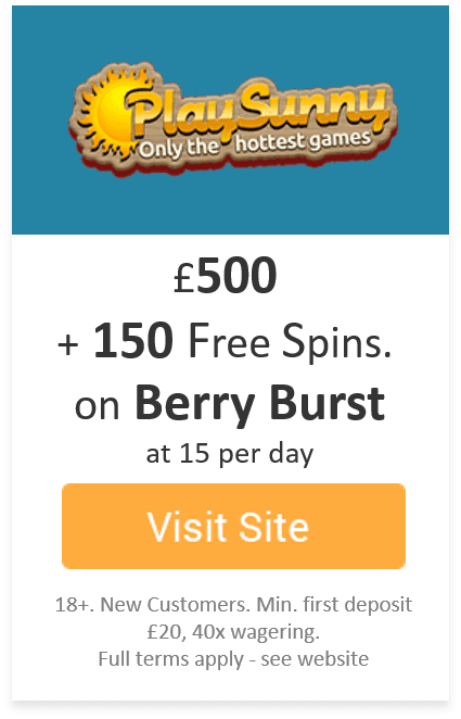 PlaySunny - Casino of the Month