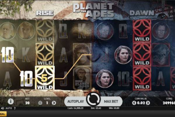 Planet of the Apes Slots Online