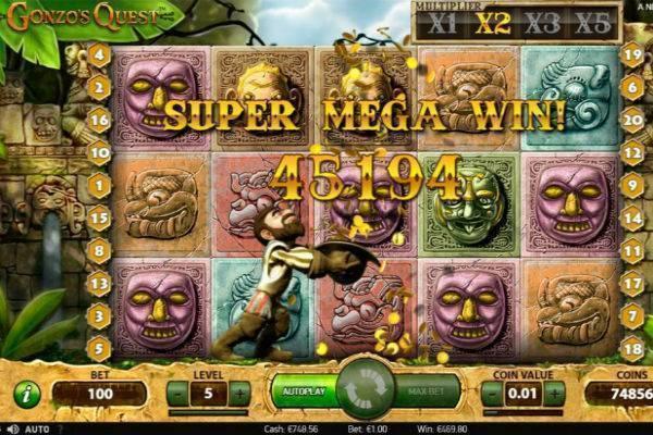 Gonzo's Quest Slot Online
