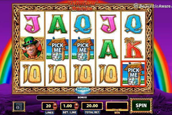 Rainbow Riches Slots Review
