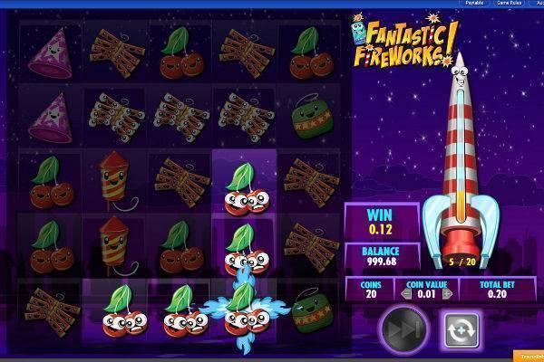 Fantastic Fireworks Slot Online