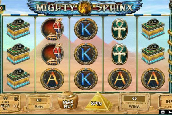 Mighty Sphinx Online Slot