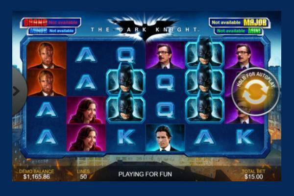 The Dark Knight Playtech Online Slot