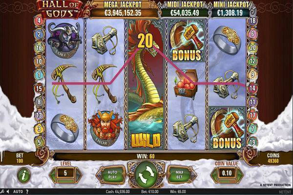 Hall of Gods Online Slot