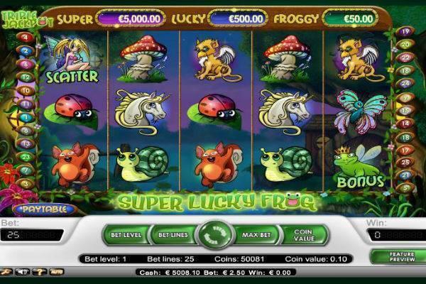Super Lucky Frog Online Slot