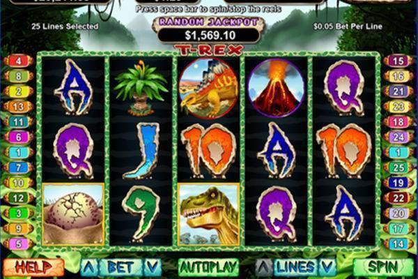T-Rex Slot Online