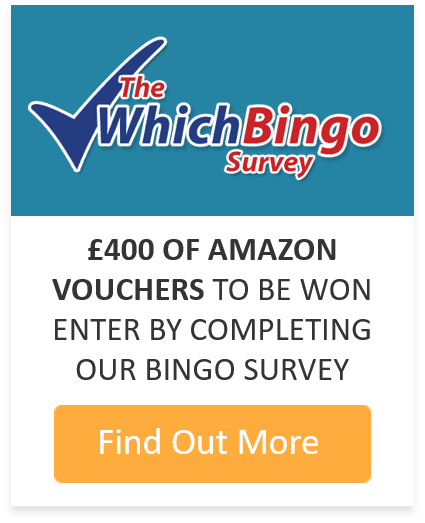 WhichBingo Survey Promo