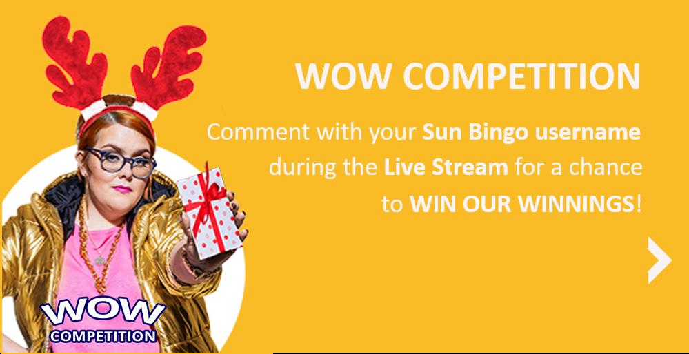 SunBIngo WOW competition