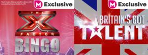 X Factor Bingo