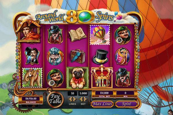 Play Around the Reels in 80 Wilds SLot Online