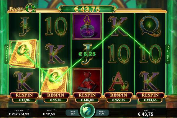 Play Book of Oz Slot Online