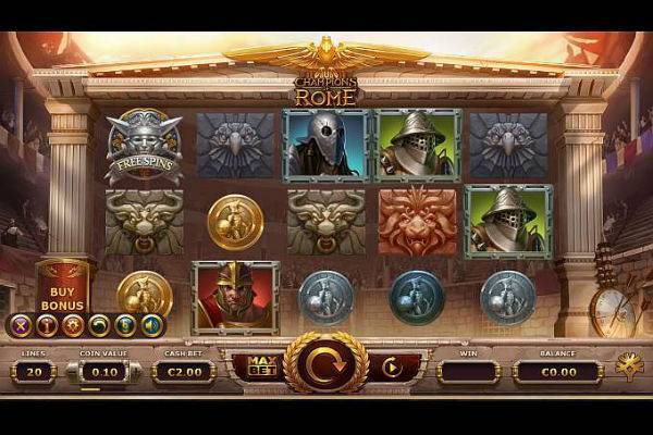 Play Champions of Rome Slot Online