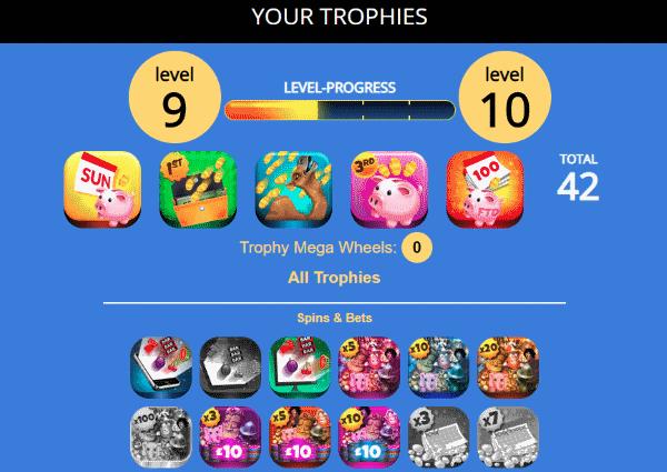 Dove trophies