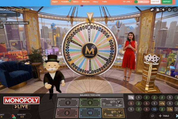 Casinos With Monopoly Live